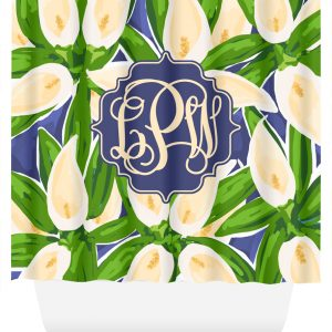 shower curtain cala lilly