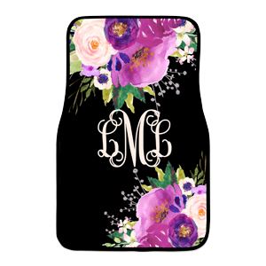 monogram car mat 3